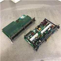 (2) Fanuc Control Boards A16B-1212-0901/15C and A16B-2202-0720/01A