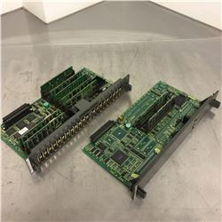 (2) Fanuc Control Boards A16B-3200-0054/01A and A16B-3200-0010/07A