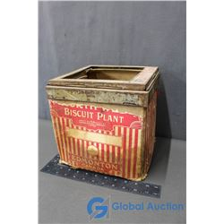 Vintage Biscuit Plant Box