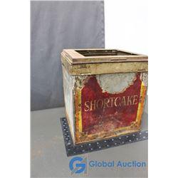 Vintage Shortcake Tin