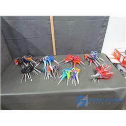 (8) Bundles of Scissors