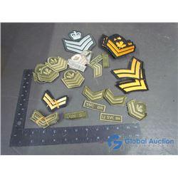 Army Rank Badges