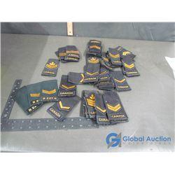 Combat Uniform Rank Epaulets