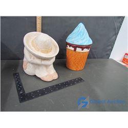(2) Cookie Jars