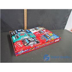 (6) Nascar Car Collectible Tins with Chocolates