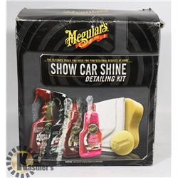 MEGUAIRS SHOW CAR SHINE DETAILING KIT.