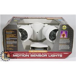 THERMAL OPTICS MOTION SENSOR LIGHTS.