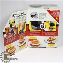 5-MINUTE BREAKFAST SANDWICH MAKER.