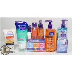 LOT OF ASSORTED SKIN CARE PRODUCT.