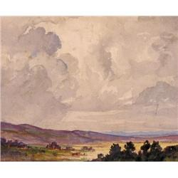 Roland Gissing - UNTITLED; A FOOTHILLS PANORAMA