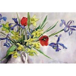 Llewellyn Petley-Jones - UNTITLED; FLOWERS