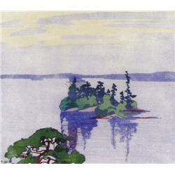 Walter Joseph Phillips - CATHCART'S ISLAND, MUSKO