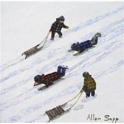 Allen Sapp - NICE DAY TO SLIDE