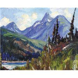 Alec John Garner - UNTITLED; MOUNTAIN RIVER