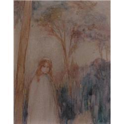 Charles Ernest de Belle - UNTITLED; GIRLS IN THE