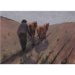 Arthur Dominique Rozaire - UNTITLED; PLOUGHING TH