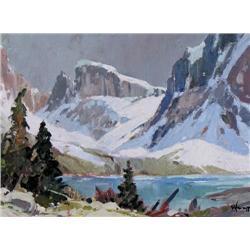 Warner Plangg - UNTITLED; HIGH MOUNTAIN LAKE