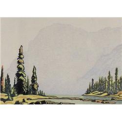 Margaret D. Shelton - UPPER TWIN LAKES, STORM MOU
