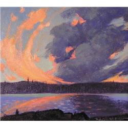 Roy A. Storberg - EVENING CLOUD FORMATIONS