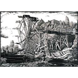 Margaret D. Shelton - GAWDUN'S WATERWHEEL, ROSEDA