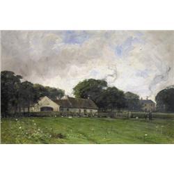 John Lawson - UNTITLED; FARM GROUNDS