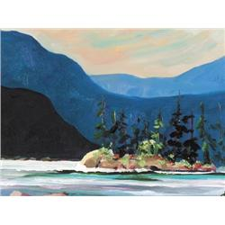 Sharon Thirkettle - MOUNTAIN LAKE-CATHEDRAL PARK