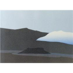 Norman Anthony [Toni] Onley - CLOUD FROM GALIANO-