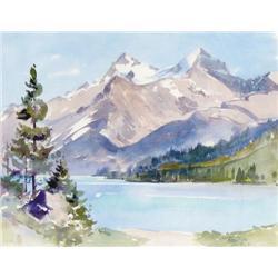 Phyllis Webb Jeffery - UNTITLED; A MOUNTAIN RIVER