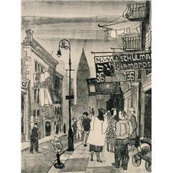 Maxwell Bennett Bates - CANAL STREET, NEW YORK