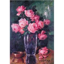 Holger Fischer - UNTITLED; STILL LIFE WITH ROSES