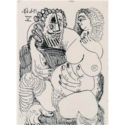 Pablo Picasso - CELESTINE: BLOCH 1648