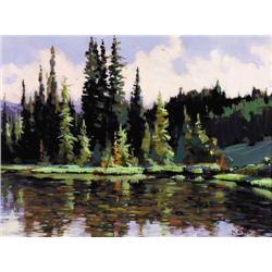 Min Ma - POND AT MOUNT RUNDLE