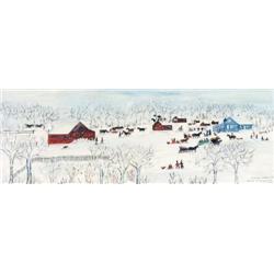 Irene E. McCaugherty - SPRING SNOW 1920