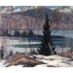 William Parsons - MARCH, GOOSE LAKE, NEAR DORSET,