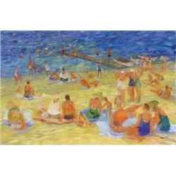 Irene Hoffar Reid - THE BEACH, OSOYOOS