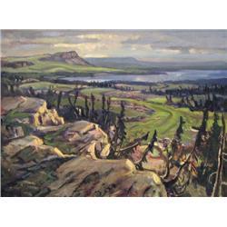 John Barry Rennie - NORTH SHORE, GREAT BEAR LAKE,