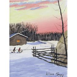 Allen Sapp - THE BOYS GOING TO PLAY