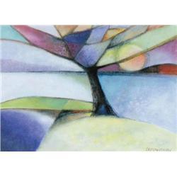 Gerard Castonguay - TREES AND LAKE