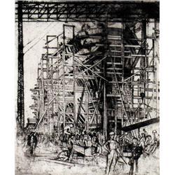 Dorothy Austin Stevens - SHIP BUILDING, THE FREIG