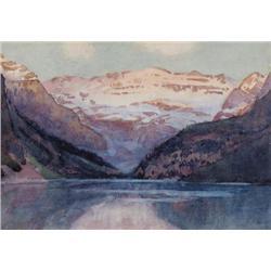 Frederick Henry Brigden - LAKE LOUISE