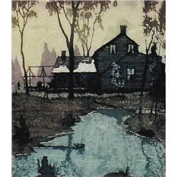 Nicholas Hornyansky - ON THE EDGE OF THE BUSH