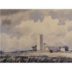Alfred Crocker Leighton - NORMAN CHURCH, EAST ANG