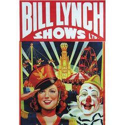 [Poster] - BILL LYNCH SHOWS LTD. (fairground pos