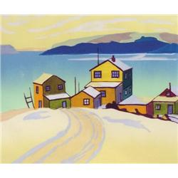 Leonard Hutchinson - SNOW ON THE BAY