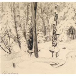 Ernest Lindner - DETAILED FOREST TREES