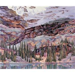 Bill Burns - LAST LIGHT, MT. LEFROY