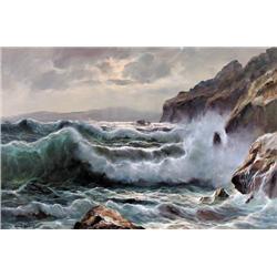 Guido Odierna - UNTITLED; CRASHING WAVES