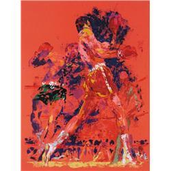 LeRoy Neiman - RED BOXERS