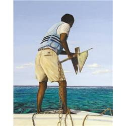 Judith E. Hall - APPROACHING THE REEF, BELIZE