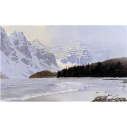 Ted Raftery - SNOW SQUALLS, MORAINE LAKE